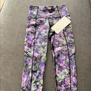 lululemon athletica Pants & Jumpsuits - Lululemon fast and free crop II leggings